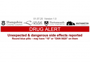 SHIP Drug Alert issued - unexpected & dangerous side effects reported