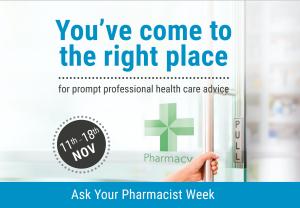 NPA 'Ask Your Pharmacist' week: 11th - 18th November 2019