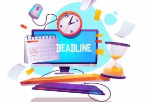 UPDATE: CPSC - Deadline Tracker for April
